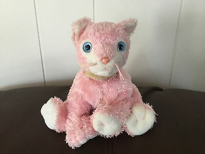 CARNATION  Pink Cat Ty Beanie Baby 2002 Plush Toy