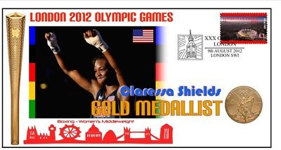 Claressa Shields 2012 Olympic Usa Boxing Gold Medal Cov