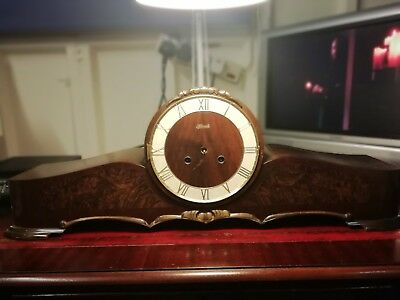 Large Hermle Clock Case And Movement. Spares or Repair.