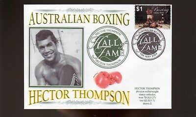 Hector Thompson Aust Boxing Hall Of Fame Inductee Cover