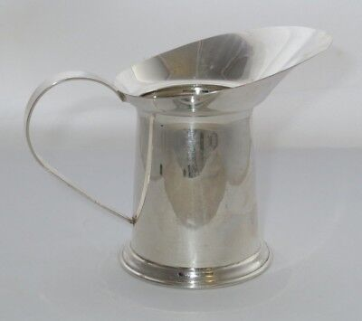 Sterling Silver 2-Ounce Milk/Cream Large Spout Creamer .925 Fine Silver