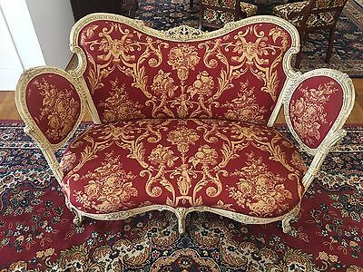 Outstanding Vintage French Settee