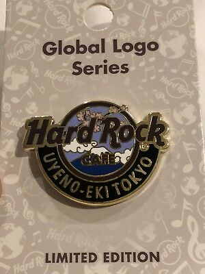 New 2018 Hard Rock Cafe Tokyo Uyeno-Eki Global Logo Series