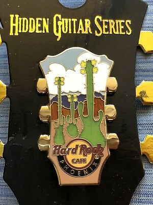 New 2018 Hard Rock Cafe Phoenix Hidden Guitar Series Pin