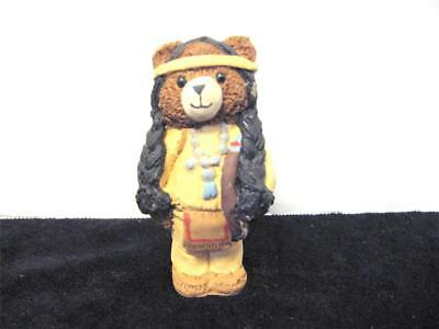 Vintage Native American Bear Carolyn Carpin The Story Book Collection 1984
