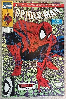 Spider-man #1 Torment - (Inside signed by Stan Lee)