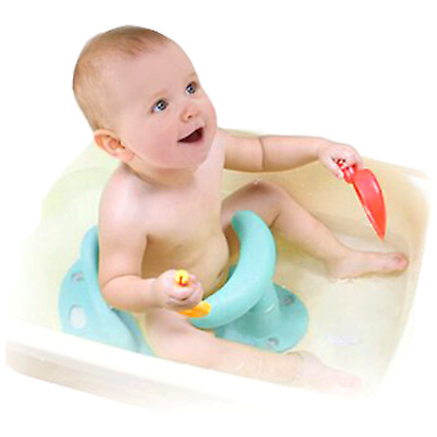 WHOLESALE Infant Baby Bath Tub Ring Seat CHAIR  BLUE FAST SHIPPING FROM USA