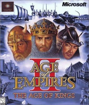 Microsoft Computer Game Age of Empires II - The Age of Kings Box VG+