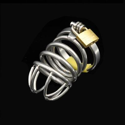 The Cheapest Price 304 Medical Grade Stainless Chastity Device Cage Arc Spike Ring Plug Ua1064 Health Care Sexual Wellness