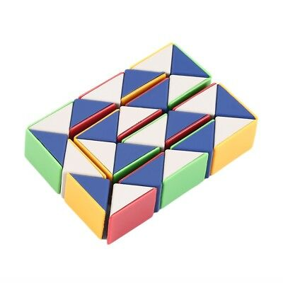 Snake Magic 3D Cube NPme Puzzle Twist Toy Party Travel Family Child Gift LW