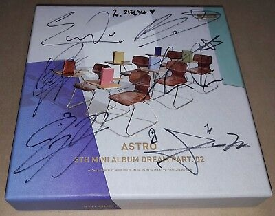 ASTRO DREAM Part2 BARAM 5th Mini K-POP REAL SIGNED AUTOGRAPHED PROMO CD #1