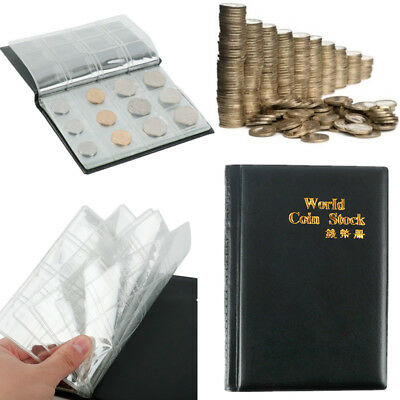 120 Openings Coins Album Collecting Money Penny Storage Holder Pocket Book New
