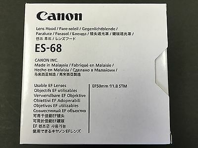 Canon Lens Hood ES-68 L-HOODES68 0575C001AA EF 50mm F1.8 STM from JAPAN