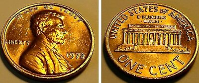 1972/72 1C Lincoln Cent Doubled Die Obverse DDO #1 #F02