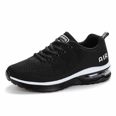 2018 Mens Sneakers Athletic Shoes Comfortable Lace Up Air Running Sport Shoes