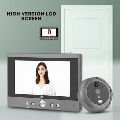 HD IR Intercom Vídeo Portero Wifi Inteligente 5in Visor Mirilla Control Remoto