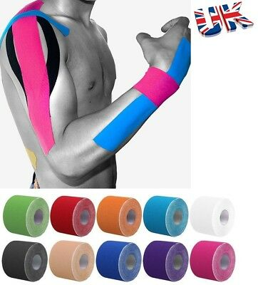 Sports Kinesiology Tape Elastic Physio Muscle Tape PRO Pain Relief Support HNQ
