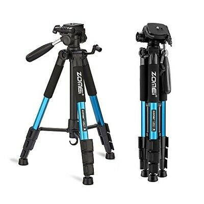 """ZOMEI 55"""" Compact Light Weight Travel Portable Folding SLR Camera Tripod for Can"""