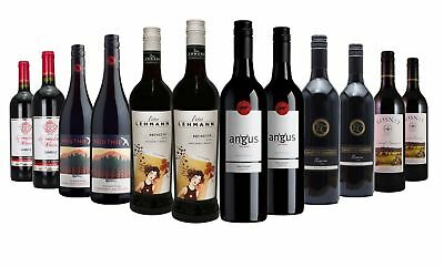 Christmas Entertainers Red Wine Mixed 12x750ml RRP$319