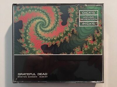 Grateful Dead: Dick's Picks Vol. 17: Boston Garden 9/25/91 3-CD Original Release