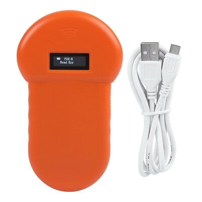 RFID 134.2Khz ISO FDX-B Animal Chip Dog Reader Microchip Handheld Scanner 12W