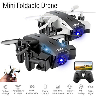 XY109 Foldable Mini Drone Camera 720P Control RC Quadcopter Aircraft w/Remote US