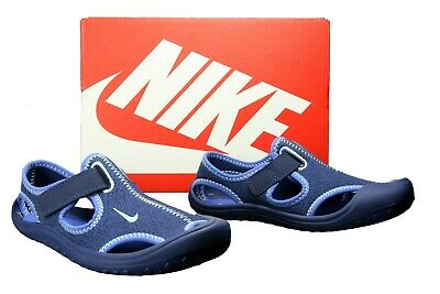reputable site 8ac42 882ab NEU Nike SUNRAY PROTECT (PS) 903631 400 Kinder Sandalen Schuhe Blau