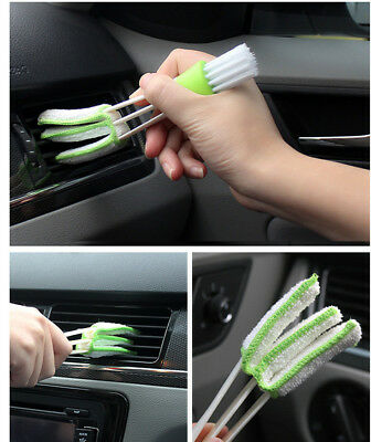 Car Dusting Brush Cleaner for Air Vent Dust Clean Car Accessories for BMW Audi