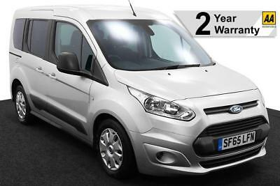 2016(65) FORD TOURNEO CONNECT 1.5 TDCi ZETEC LOW FLOOR WHEELCHAIR ACCESSIBLE