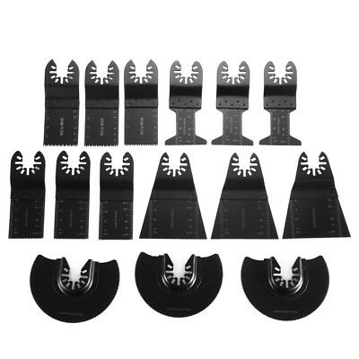 15pcs Quick Release Multitool Saw Blade For Fein Multimaster Makita Bosch BI1057