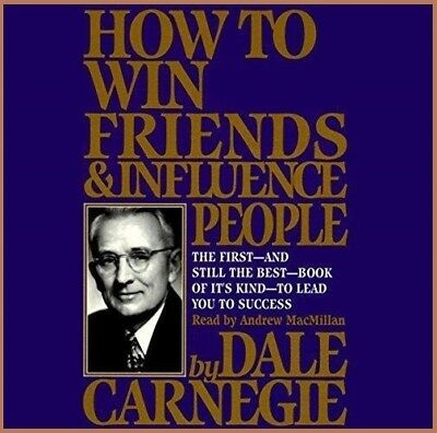 How to Win Friends & Influence People by Dale Carnegie (audio book)