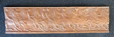 Henning early 19th Century Bronze panel - classic horse and rider theme