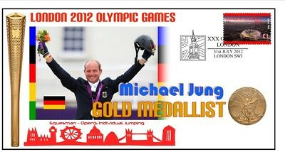 Michael Jung 2012 Olympic Equestrian Gold Medal Cover