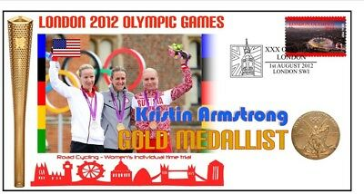 Kirstin Armstrong 2012 Olympic Cycling Gold Medal Cov 1