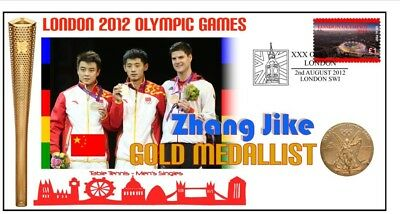 Zhang Jike 2012 Olympic Table Tennis Gold Medal Cover