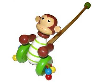 Push-A-Long Monkey