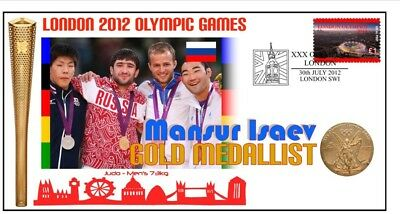 Mansur Isaev 2012 Olympic Russia Judo Gold Medal Cover