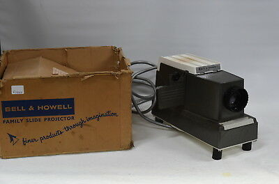 Bell & Howell Family 717 Single 35mm Slide Projector - Vintage 1960's