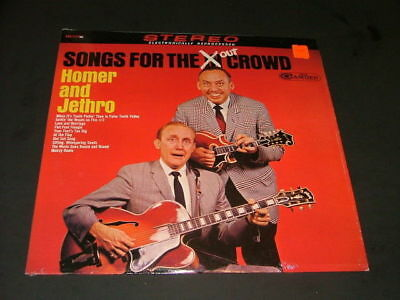 """Homer & Jethro """" Songs For The Out Crowd"""" RCA CAS - 2137                 ID:2320"""