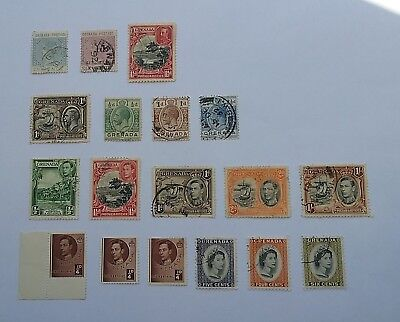 Grenada 1883 onward stamps