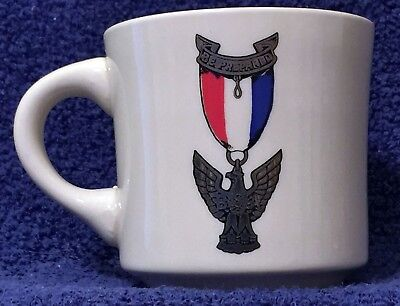 BSA Mug - EAGLE SCOUT AWARD - Be Prepared - vintage - BP