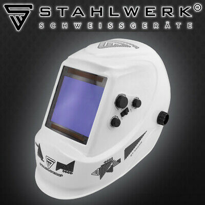 STAHLWERK ST-950XW Auto Darkening Welding Helmet Welders Mask - Very Big Window