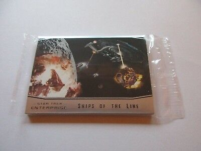 Quotable Star Trek Enterprise Series 1 - 9 Card Ships of the Line Set (Archives)