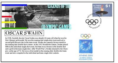 Olympic Games Legends Cover, Oscar Swahn Shooting