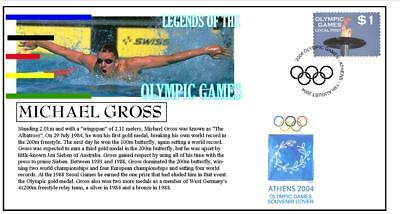 Olympic Games Legends Cover, Michael Gross Swimming