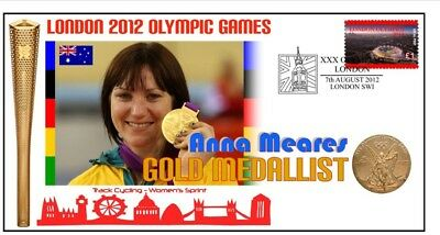 Anna Meares 2012 Olympic Australia Cycling Gold Cover 4