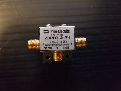 Mini-Circuits ZX10-2-71 Power Splitter / Combiner 2 Way 2950 to 7100MHz