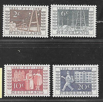 Netherlands, #336/9, 1952 Exhibition issue, mint,  as taken from a collection.