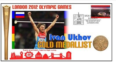 Ivan Ukhov 2012 Olympic Russia High Jump Gold Medal Cov