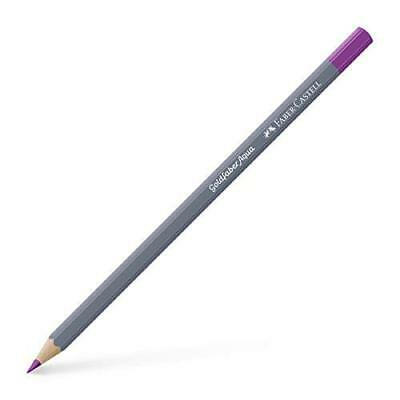 Faber-Castell (Single) - Goldfaber A W'col Pencil 125 Middle Purple Pink